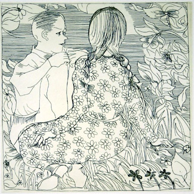 "<h4 style=""margin:0px 0px 5px 0px"">The Conversation</h4>Medium: Etching<br />Price: $2,200 