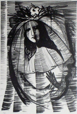 "Titania As Bride<br /><br />Medium: Lithograph<br />Price: $2,300<br /><a href=""Artwork-Blackman-TitaniaAsBride-65.htm"">View full artwork details</a>"