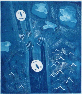 "<h4 style=""margin:0px 0px 5px 0px"">Sea Trapeze</h4>Medium: Etching<br />Price: $400 