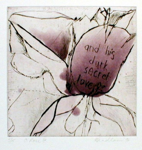 "<h4 style=""margin:0px 0px 5px 0px"">O Rose 9</h4>Medium: Etching & drypoint<br />Price: $ Price On Application 