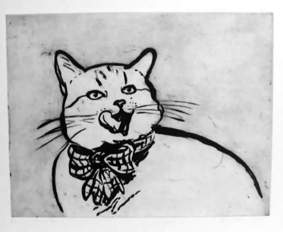 "<h4 style=""margin:0px 0px 5px 0px"">Pussys bow</h4>Medium: Etching<br />Price: $770 