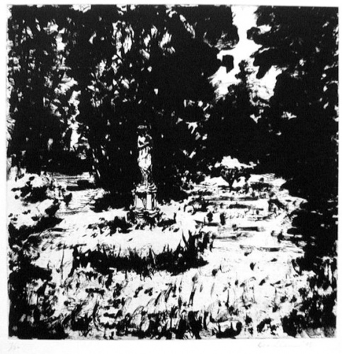 "<h4 style=""margin:0px 0px 5px 0px"">Verdis garden II</h4>Medium: Etching<br />Price: $770 
