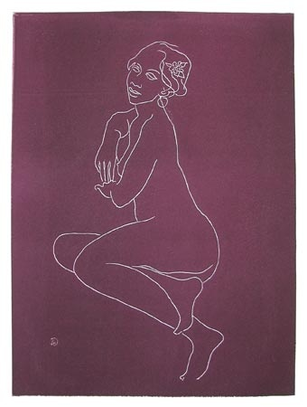 "<h4 style=""margin:0px 0px 5px 0px;"">African Model II</h4>Medium: Etching<br />Price: $660 <span style=""color:#aaa"">