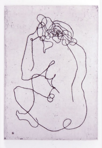 "<h4 style=""margin:0px 0px 5px 0px"">Seated Woman</h4>Medium: Etching<br />Price: $990 