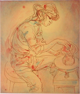 "<h4 style=""margin:0px 0px 5px 0px"">The Young Sculptor</h4>Medium: Etching<br />Price: Sold 