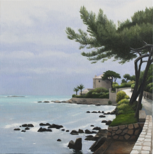 "Road out to the Cap d Antibes<br /><br />Medium: Oil on Canvas<br />Price: $2,500<br /><a href=""Artwork-Kempson-RoadouttotheCapdAntibes-3054.htm"">View full artwork details</a>"