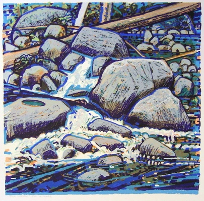 "<h4 style=""margin:0px 0px 5px 0px;"">Blue Morning</h4>Medium: Screenprint<br />Price: $462 <span style=""color:#aaa"">