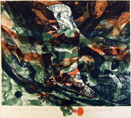 "<h4 style=""margin:0px 0px 5px 0px"">Deep Passage</h4>Medium: Lithograph<br />Price: $198 