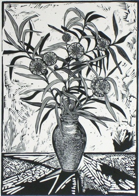 "<h4 style=""margin:0px 0px 5px 0px;"">Freda's Hakea</h4>Medium: Linocut<br />Price: $396 <span style=""color:#aaa"">