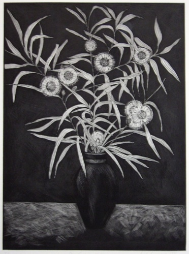 "<h4 style=""margin:0px 0px 5px 0px;"">Pin Cushion Hakea</h4>Medium: Etching<br />Price: $396 <span style=""color:#aaa"">