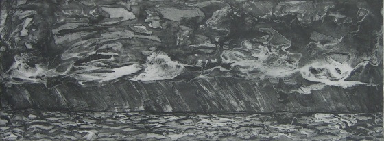 "Stormy Seas<br /><br />Medium: Etching<br />Price: $500<br /><a href=""Artwork-McLoughlin-StormySeas-1176.htm"">View full artwork details</a>"