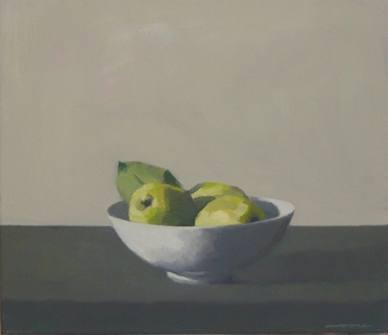 "<h4 style=""margin:0px 0px 5px 0px;"">Bowl of quinces 2</h4>Medium: OIl on linen framed<br />Price: $2,000 <span style=""color:#aaa"">
