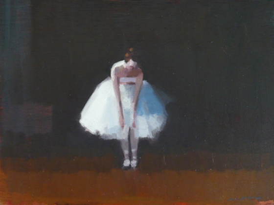 "<h4 style=""margin:0px 0px 5px 0px;"">Rehearsing 2</h4>Medium: Oil on cedar. Framed<br />Price: Sold <span style=""color:#aaa"">