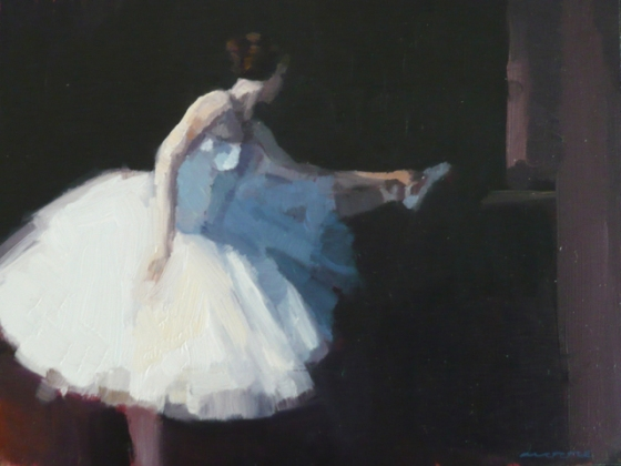 "<h4 style=""margin:0px 0px 5px 0px;"">Rehearsing 3</h4>Medium: Oil on Cedar. Framed<br />Price: Sold <span style=""color:#aaa"">