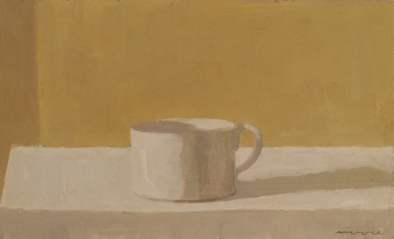 White Cup by David Moore