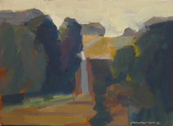 "<h4 style=""margin:0px 0px 5px 0px"">Evening Shadows Yarra Glen by David Moore</h4>Medium: Oil on cedar framed<br />Price: Sold<span class=""helptip"" style=""color:#ff0000;"" title=""This artwork been sold""><img src=""/images/reddot1.gif"" border=""0"" height=""10"" /></span> 