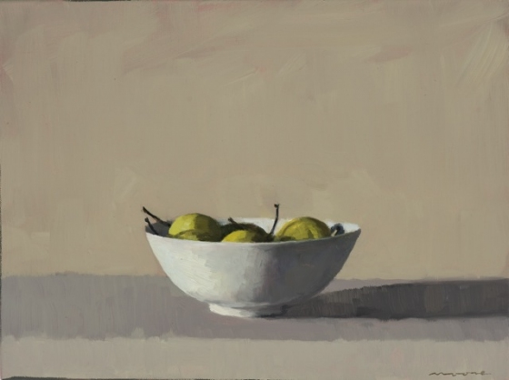 "<h4 style=""margin:0px 0px 5px 0px"">Nashi pears II by David Moore</h4>Medium: Oil on linen framed<br />Price: Sold<span class=""helptip"" style=""color:#ff0000;"" title=""This artwork been sold""><img src=""/images/reddot1.gif"" border=""0"" height=""10"" /></span> 