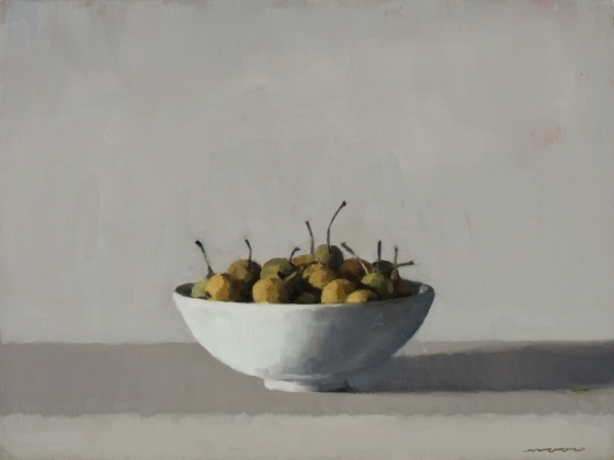 "<h4 style=""margin:0px 0px 5px 0px"">Wild Pears I by David Moore</h4>Medium: Oil on linen framed<br />Price: Sold<span class=""helptip"" style=""color:#ff0000;"" title=""This artwork been sold""><img src=""/images/reddot1.gif"" border=""0"" height=""10"" /></span> 