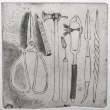 "<h4 style=""margin:0px 0px 5px 0px"">The complete gardener</h4>Medium: Etching<br />Price: $300 
