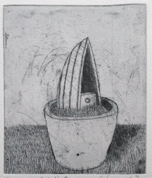 "<h4 style=""margin:0px 0px 5px 0px"">The gardeners little voyage II</h4>Medium: Etching<br />Price: $260 