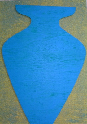 "<h4 style=""margin:0px 0px 5px 0px"">Amphora Series - Ilias</h4>Medium: Collage<br />Price: $700 
