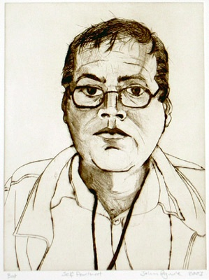 "<h4 style=""margin:0px 0px 5px 0px"">Self portrait</h4>Medium: Drypoint<br />Price: $440 
