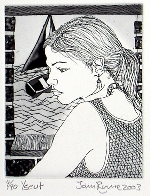 "Yseut<br /><br />Medium: Etching<br />Price: $260<br /><a href=""Artwork-Ryrie-Yseut-797.htm"">View full artwork details</a>"
