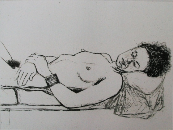 "<h4 style=""margin:0px 0px 5px 0px"">Model resting</h4>Medium: Etching<br />Price: $450 