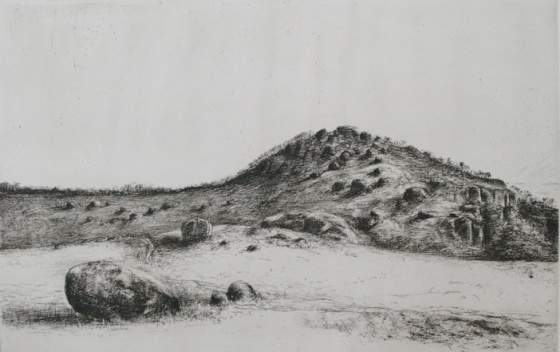 "<h4 style=""margin:0px 0px 5px 0px"">You Yangs</h4>Medium: Etching & drypoint<br />Price: $500 