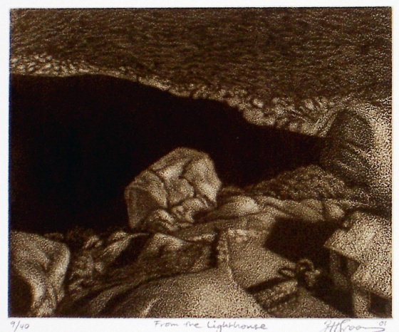 "<h4 style=""margin:0px 0px 5px 0px"">From the Lighthouse</h4>Medium: Etching<br />Price: $360 
