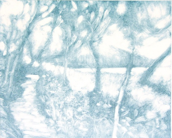 "<h4 style=""margin:0px 0px 5px 0px"">Towards Oberon Bay II</h4>Medium: Monoprint<br />Price: $990 