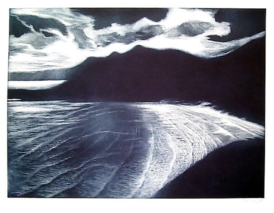 "Towards Squeaky Beach<br /><br />Medium: Etching<br />Price: $700<br /><a href=""Artwork-Spooner-TowardsSqueakyBeach-510.htm"">View full artwork details</a>"