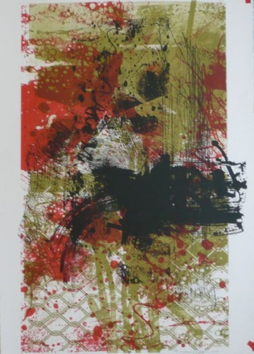 "Immigrant 1<br /><br />Medium: Lithograph<br />Price: $900<br /><a href=""Artwork-Waller-Immigrant1-2554.htm"">View full artwork details</a>"
