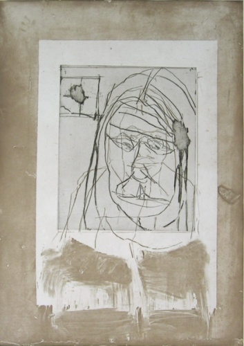 "<h4 style=""margin:0px 0px 5px 0px"">Interior with face</h4>Medium: Etching<br />Price: $1,000 