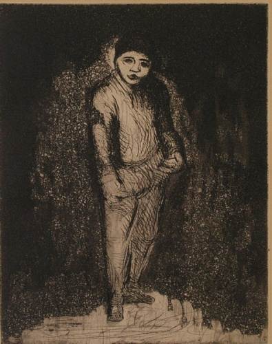 "Actor<br /><br />Medium: Etching<br />Price: $500<br /><a href=""Artwork-Armstrong-Actor-1805.htm"">View full artwork details</a>"