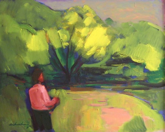 "<h4 style=""margin:0px 0px 5px 0px"">Dargo River</h4>Medium: Oil on canvas<br />Price: $6,000 