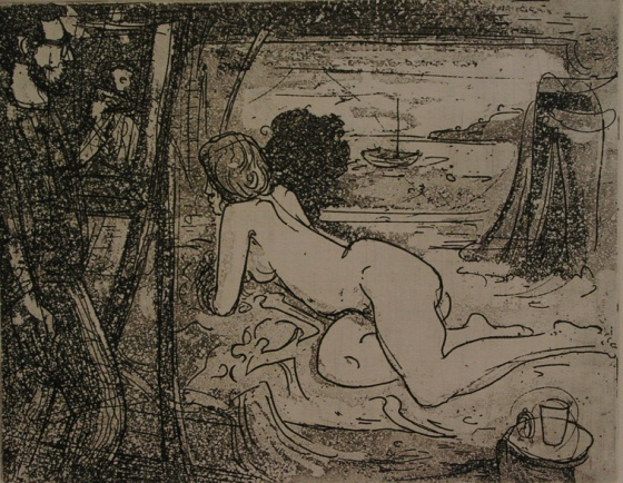 "Life room<br /><br />Medium: Etching<br />Price: $650<br /><a href=""Artwork-Armstrong-Liferoom-1562.htm"">View full artwork details</a>"