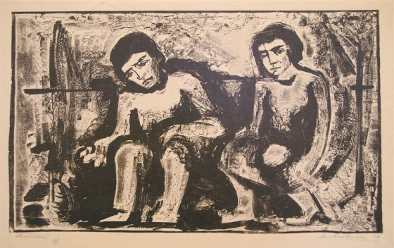 "Meditation<br /><br />Medium: Lithograph<br />Price: $800<br /><a href=""Artwork-Armstrong-Meditation-1563.htm"">View full artwork details</a>"