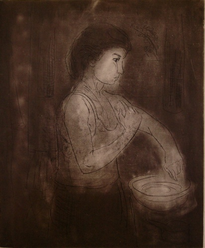 "<h4 style=""margin:0px 0px 5px 0px"">Morning wash</h4>Medium: Etching<br />Price: Sold 