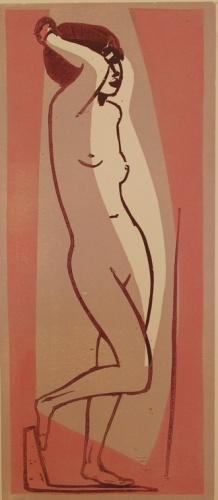 "(Pink)<br /><br />Medium: Woodcut<br />Price: $1,000<br /><a href=""Artwork-Armstrong-Pink-1572.htm"">View full artwork details</a>"