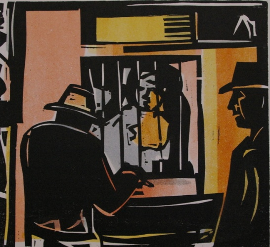 "<h4 style=""margin:0px 0px 5px 0px;"">The Tote</h4>Medium: Woodcut<br />Price: $700 <span style=""color:#aaa"">