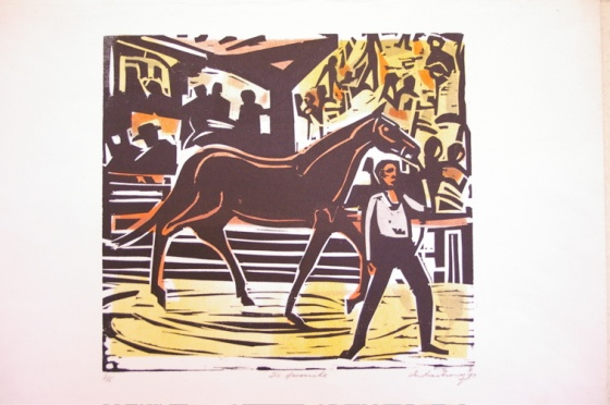 "<h4 style=""margin:0px 0px 5px 0px"">The favourite</h4>Medium: Woodcut<br />Price: Sold 