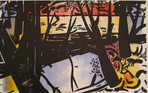 "Wareek 1<br /><br />Medium: Woodcut<br />Price: $800<br /><a href=""Artwork-Armstrong-Wareek1-1591.htm"">View full artwork details</a>"