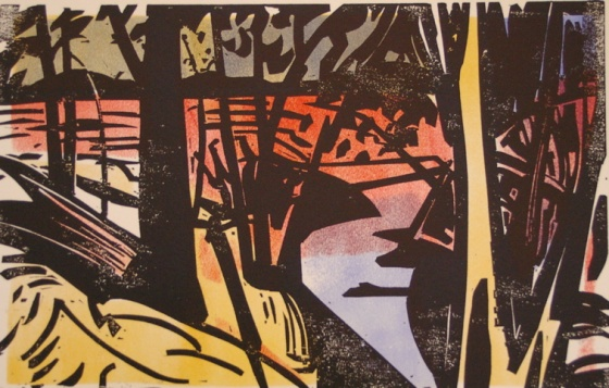"Wareek 2<br /><br />Medium: Woodcut<br />Price: $800<br /><a href=""Artwork-Armstrong-Wareek2-1592.htm"">View full artwork details</a>"