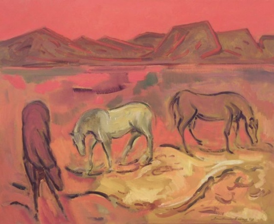 "<h4 style=""margin:0px 0px 5px 0px;"">Wild Horses</h4>Medium: Oil on canvas<br />Price: $6,000 <span style=""color:#aaa"">