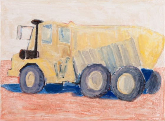 "Dump-truck Lindsay Park<br /><br />Medium: Oil on linen, Framed<br />Price: $5,500<br /><a href=""Artwork-Barrett-DumptruckLindsayPark-2978.htm"">View full artwork details</a>"
