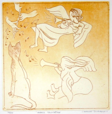 "<h4 style=""margin:0px 0px 5px 0px;"">Angels Trumpeting</h4>Medium: Etching<br />Price: $2,100 <span style=""color:#aaa"">