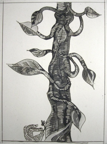 "<h4 style=""margin:0px 0px 5px 0px;"">Jacks Beanstalk</h4>Medium: Etching<br />Price: $1,050 <span style=""color:#aaa"">