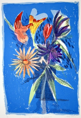 "Melbourne Cup Bouquet 1989<br /><br />Medium: Screen Print<br />Price: Currently Unavailable<br /><a href=""Artwork-Blackman-MelbourneCupBouquet1989-810.htm"">View full artwork details</a>"