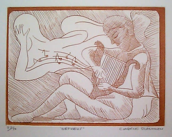 "<h4 style=""margin:0px 0px 5px 0px"">Orpheus</h4>Medium: Etching<br />Price: $1,100 